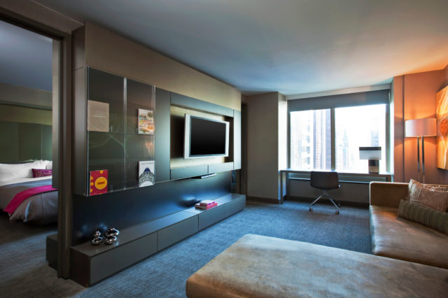 W Hotels of New York: W Times Square - Fantastic Suite