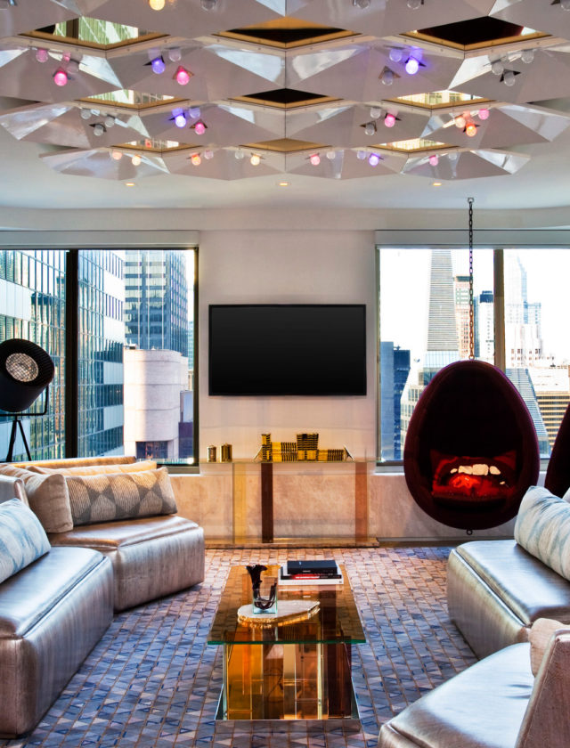 W Hotels of New York: W Times Square - E WOW Suite