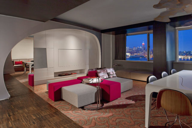 W Hotels of New York: W Hoboken - EWOW Suite