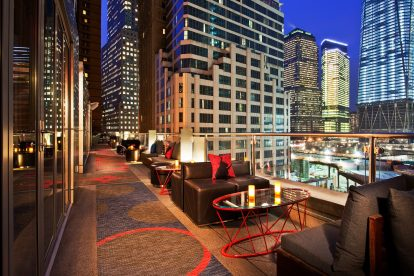 W Hotels of New York: W Downtown - Terrace
