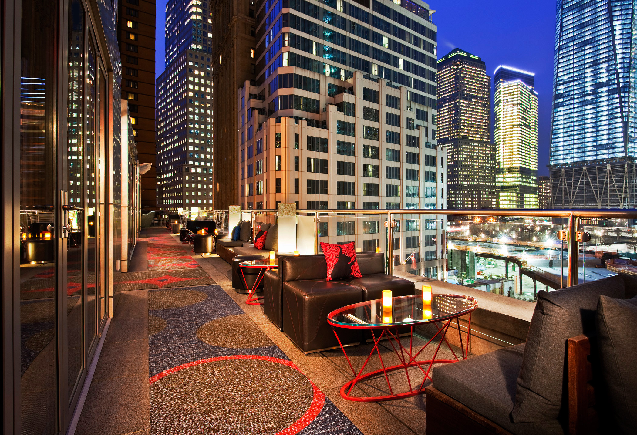 W Hotels Of New York Downtown Terrace