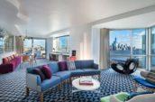 W Hoboken Wow Suite Living Room