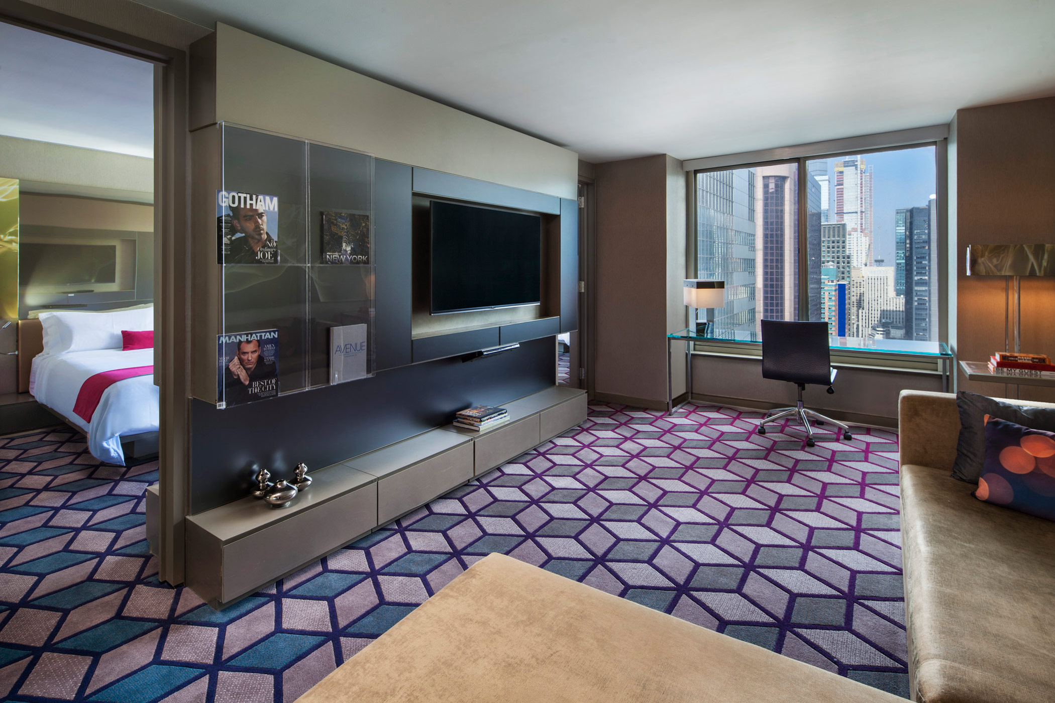 Discover The Marvelous Suite At W New York Times Square