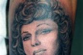 woman arm tattoo