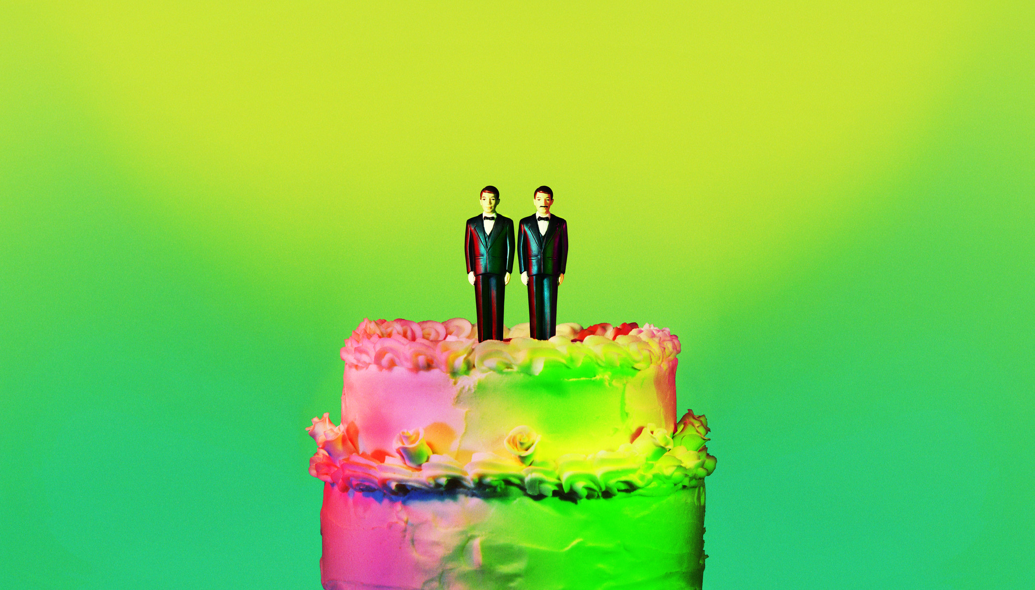 Groom and Groom Cake Topper