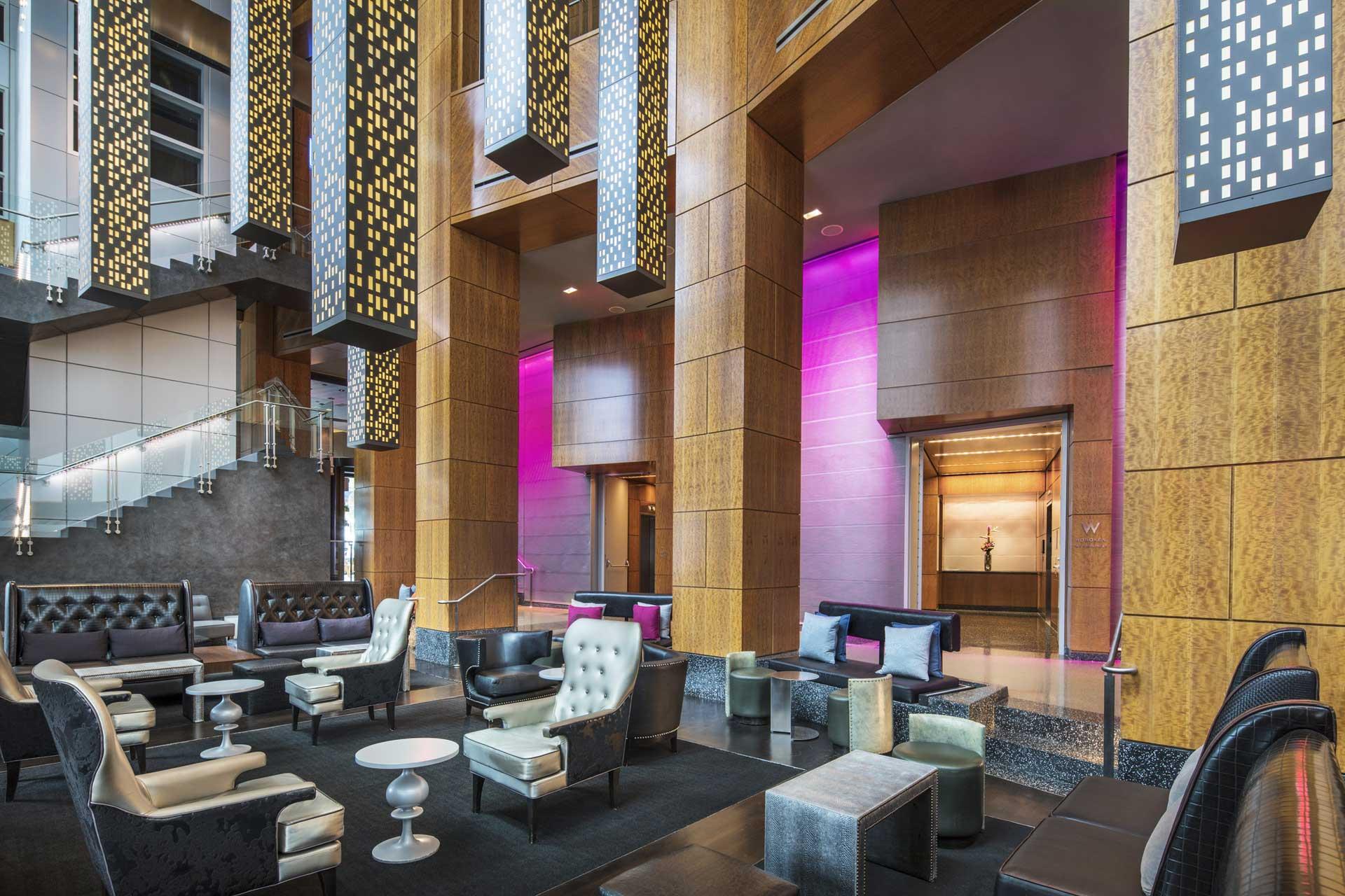 modern luxury hotel bar